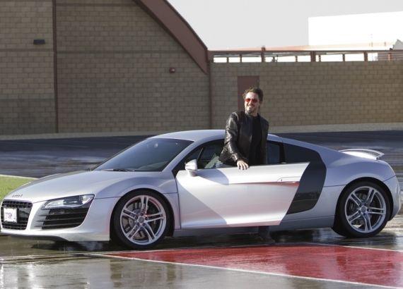 Robert Downey Jr Drives Audi A7 Celebrity Cars