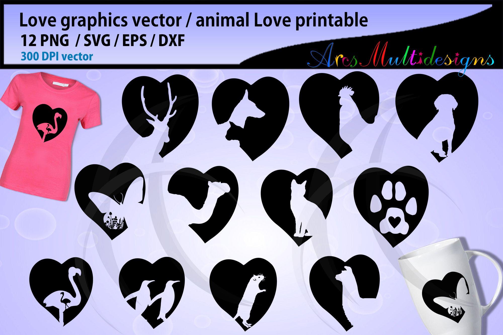 Download Love animal svg