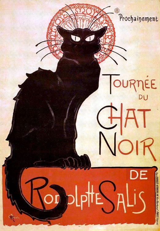 This Poster By Toulouse Lautrec Has Intrigued Me Since I Was An Art Student In High School Abstract The Fauvists Tournee Du Chat Noir Chat Art