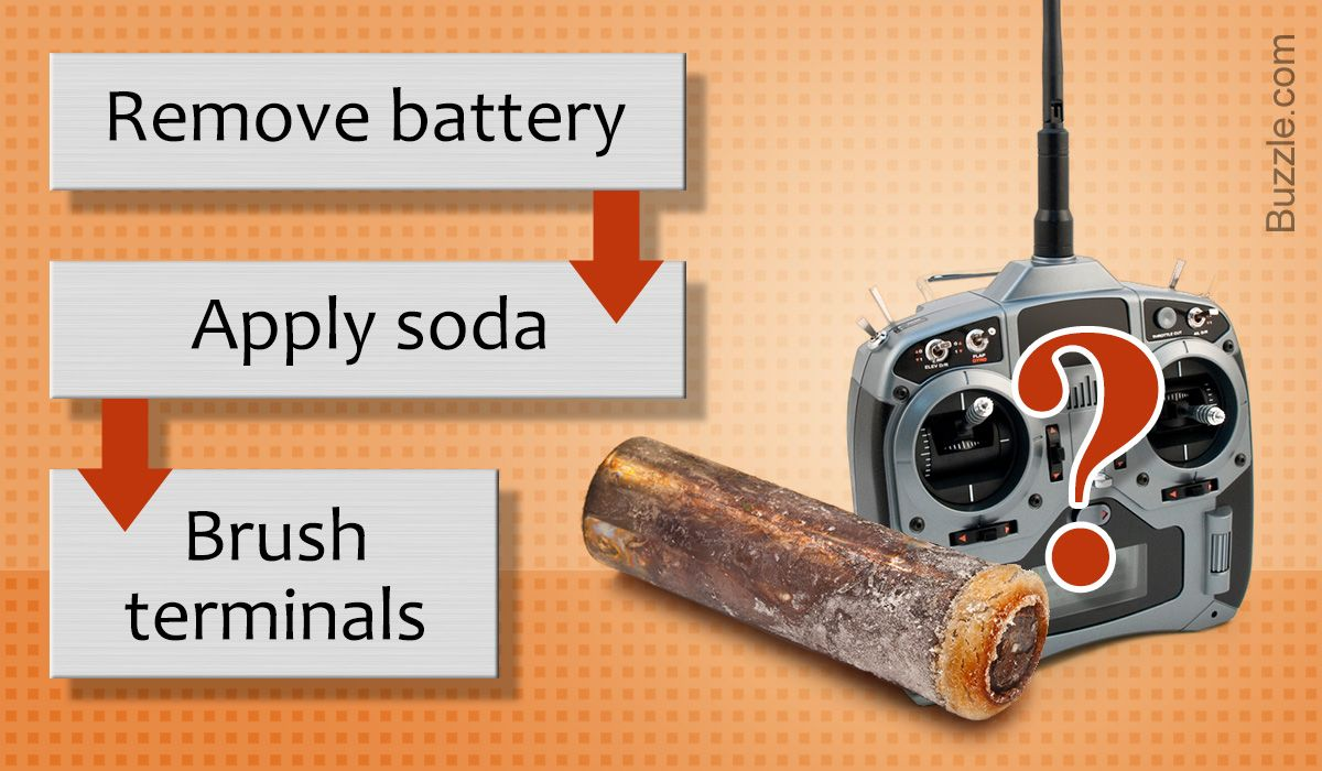 How to Clean Off Battery Corrosion in Toys and Why It's