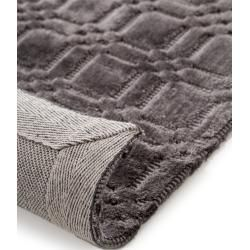 Photo of benuta viscose carpet Nelson gray 250×350 cm – Modern carpet for living room benuta