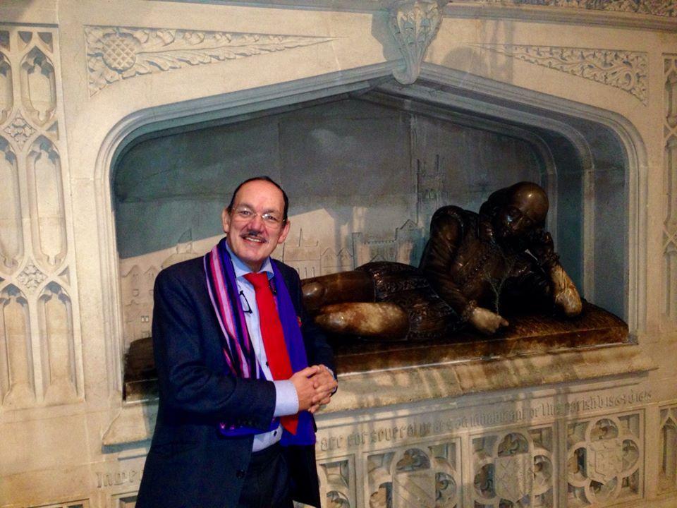Shakesphere's Tomb Crisis Carol Service '14 Southwark
