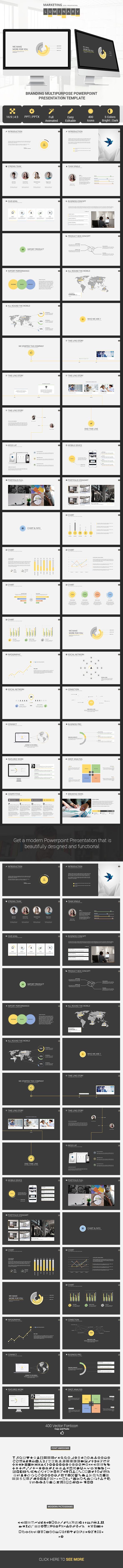 Luminary Presentation Template V  Sample Business Plan Swot