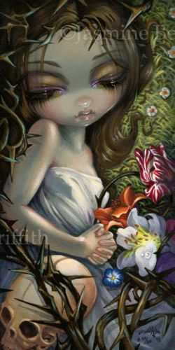 The Star Jasmine Becket-Griffith CANVAS PRINT Lowbrow Tarot art gothic fairy