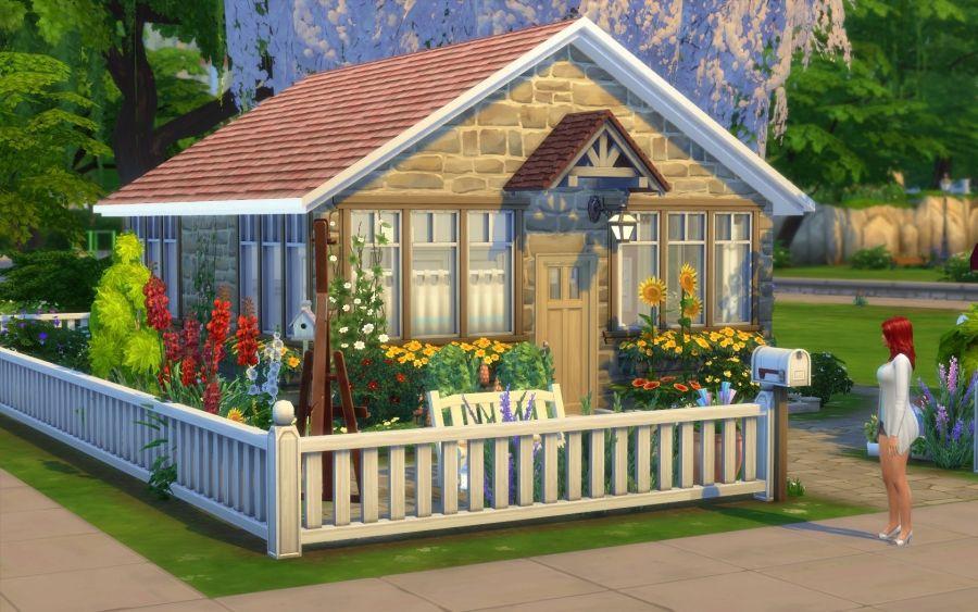 Brindille Vue Generale 1 Maison Sims Sims 4 Maison Sims
