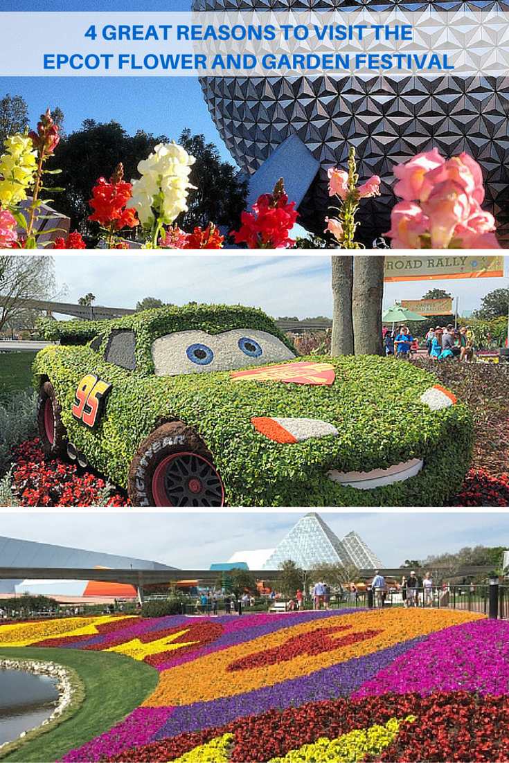 4 great reasons to visit the epcot flower & garden festival