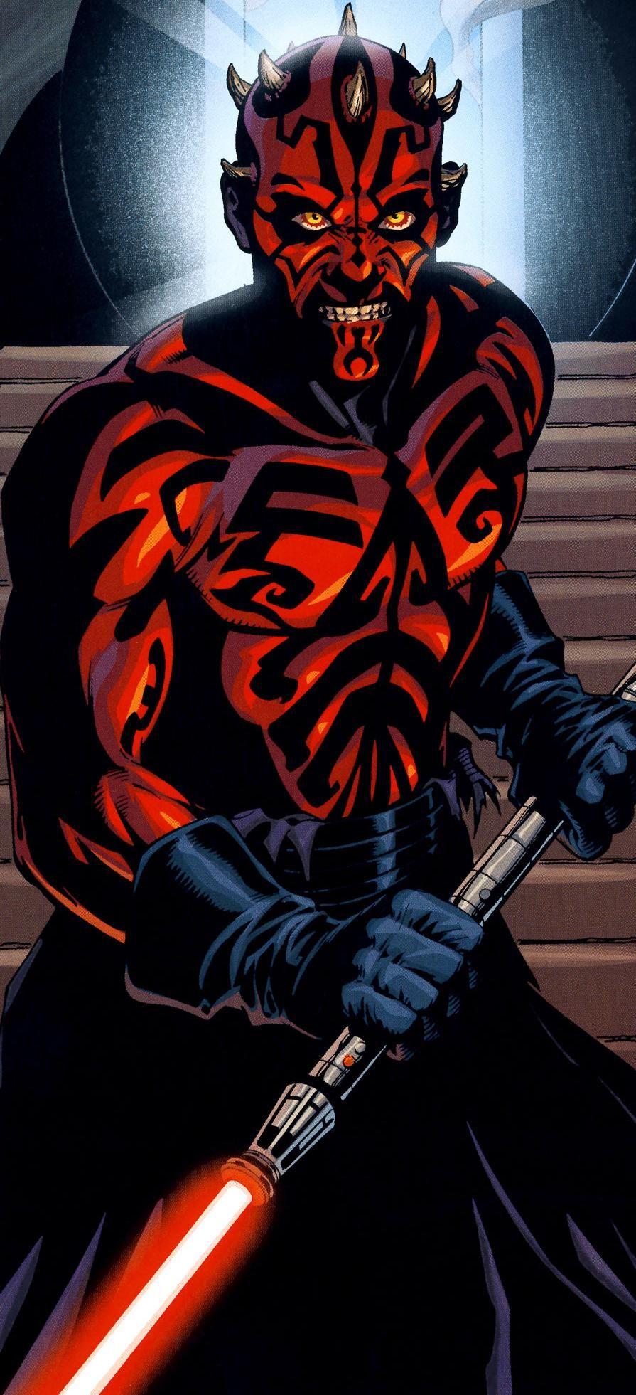 Darth Maul Full-body Sith Tattoos Star Wars