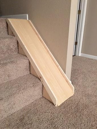 Ryobi Nation Stair Slide Stair Slide Indoor Slides Diy Stairs