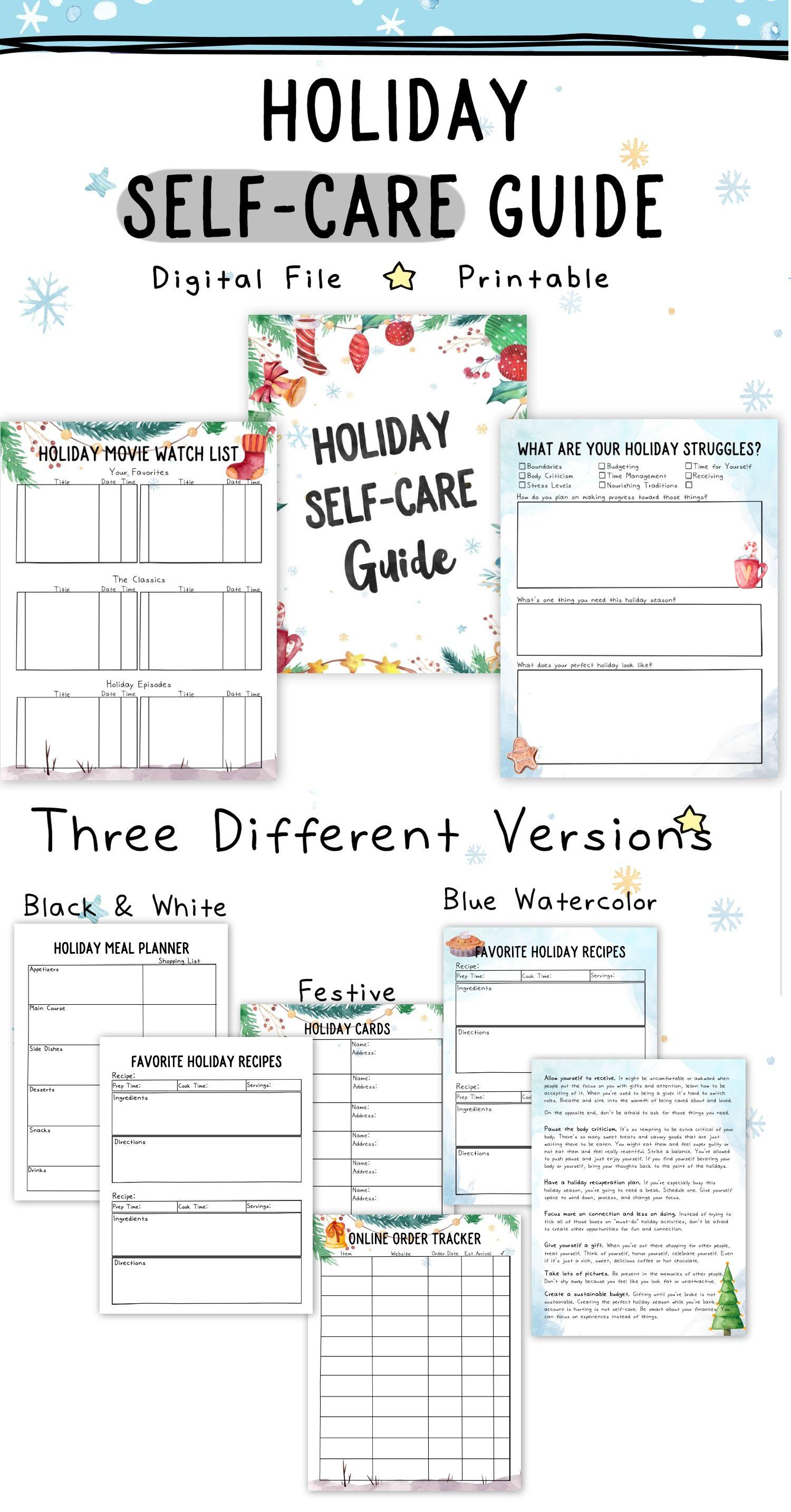 Holiday Self Care Mini Guide