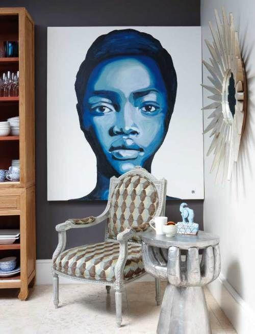 Cape town chic portraits decoration africaine deco africaine et d coration maison - Canape style africain ...