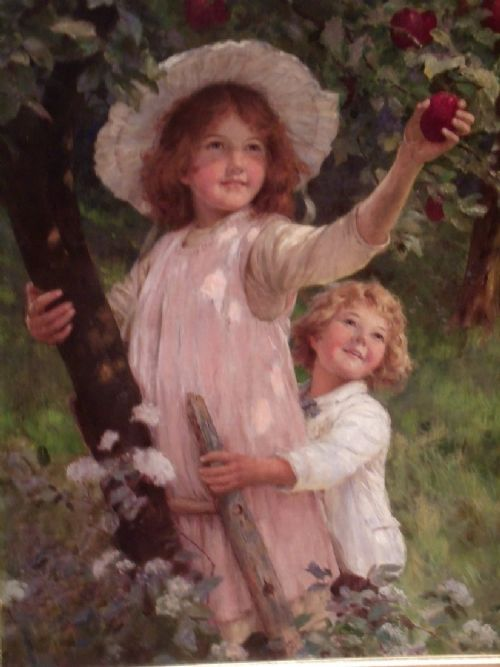 Early 20th C Oil On Canvas By Circle Of Frederick Morgan | 256279 ...