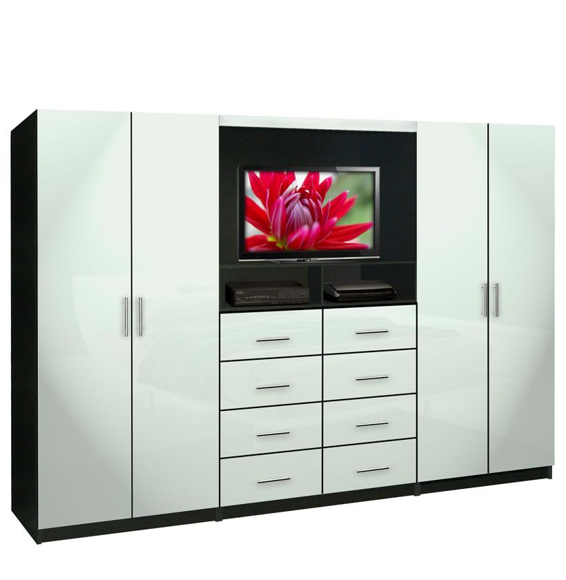 Aventa Wardrobe Wall Units For Bedroom