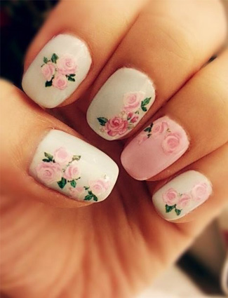 15 must-try floral manicures