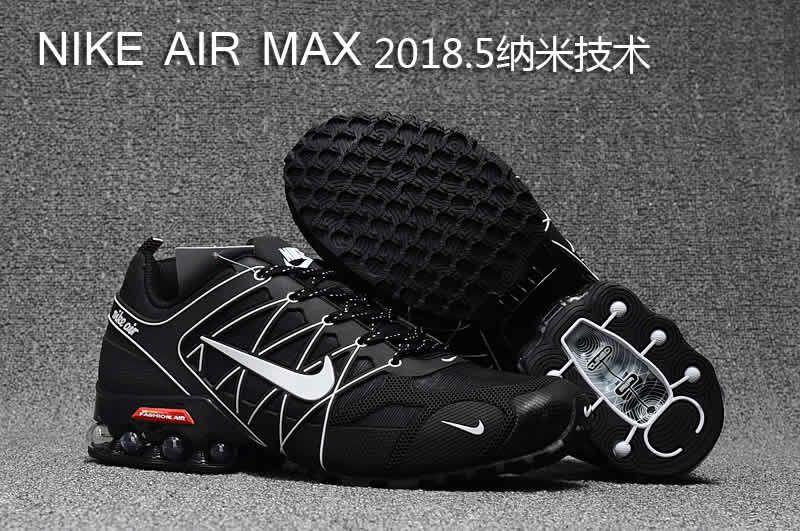 96a0abddf78 Nike air max 2018.5 men black white