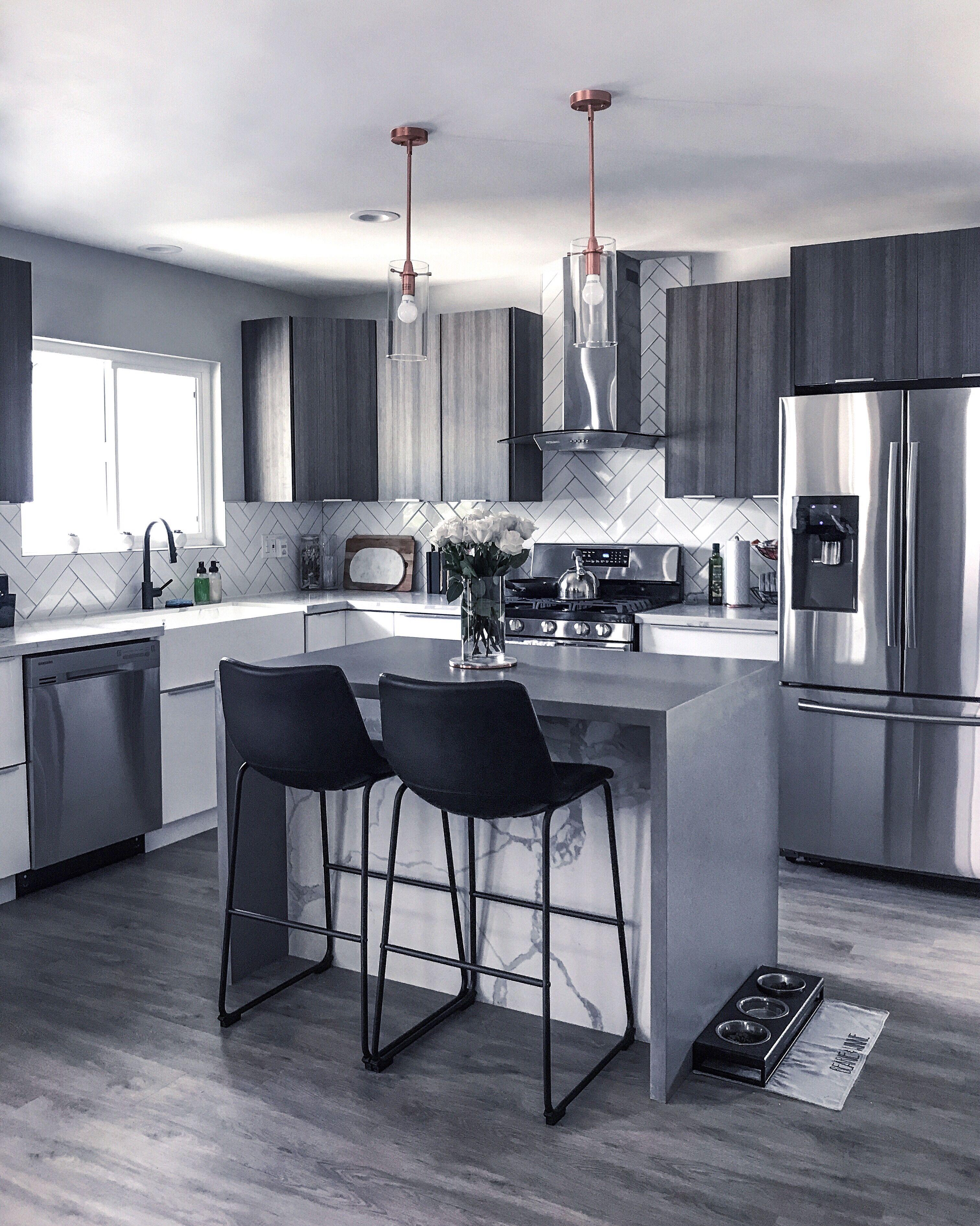 Modern Grey Kitchen Kitchen Design Modern Small Modern Grey Kitchen Kitchen Interior Design Modern