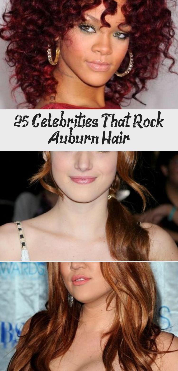 25 Celebrities That Rock Auburn Hair – HairStyles NailStyles#auburn #celebrities…