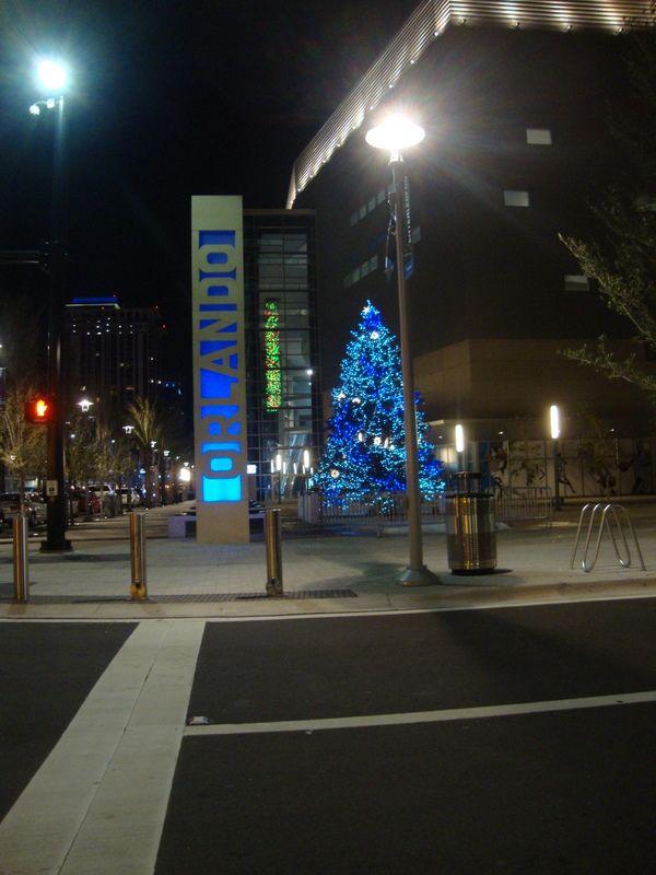 Downtown Orlando Christmas Tree Lighting   Christmas in ...