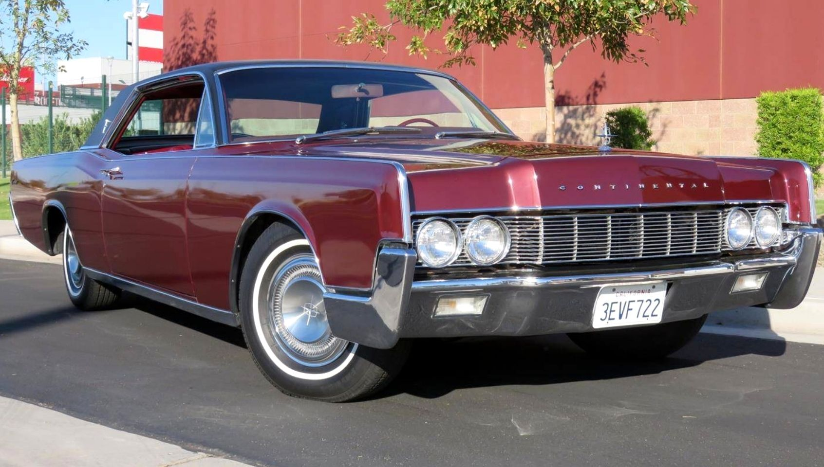 1967 Lincoln Continental 2door passenger coupe Lincoln