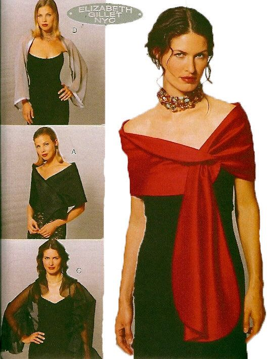 Evening Wraps/Shrugs to Wear with Formal Gowns - 4 Different Styles ...
