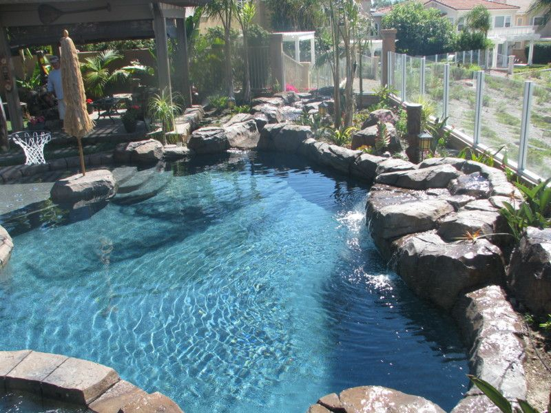 Lagoon Pool Designs | Small Lagoon Pools Photo