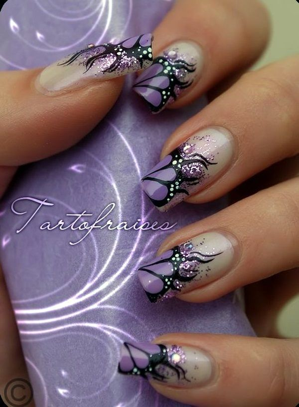 45 Pretty French Nails Designs 2016 | French nails and Nail nail