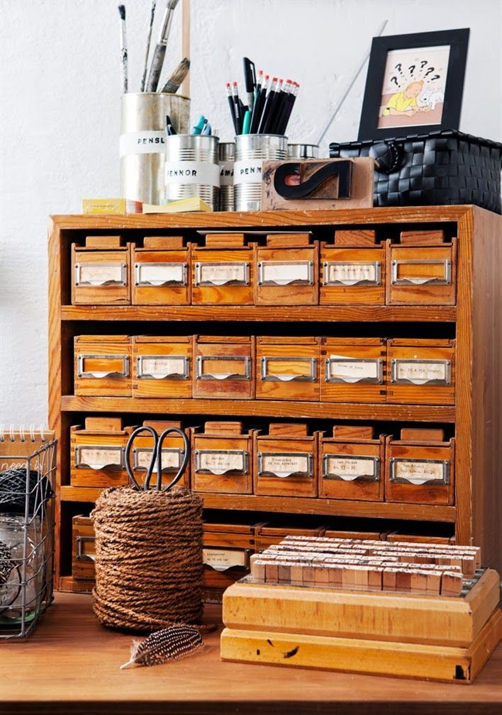 Soooo wish I could find this set of library card drawers!!!!!!!!!!!!!!!!