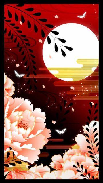 和風和柄日本的なスマホ壁紙 和風和柄日本的なスマホ