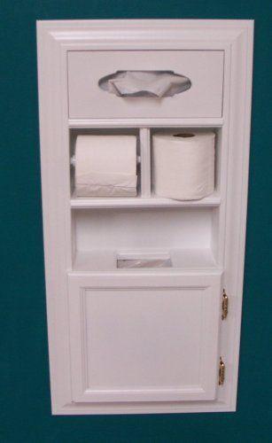 Hidden Toilet Paper Storage Ideas