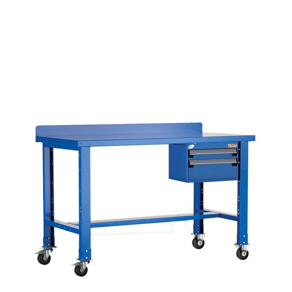 Brilliant Mobile Workbench With Painted Steel Top Rousseau Metal Pabps2019 Chair Design Images Pabps2019Com