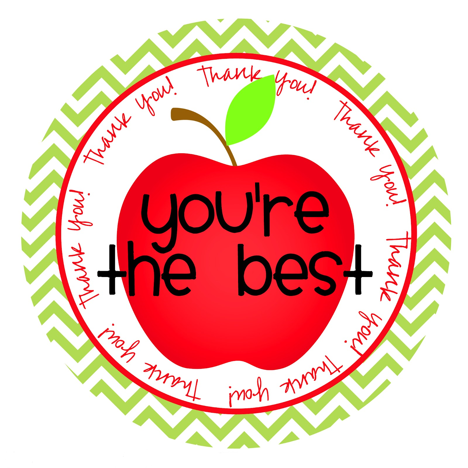 Apple Teacher Appreciation Teacher Clipart