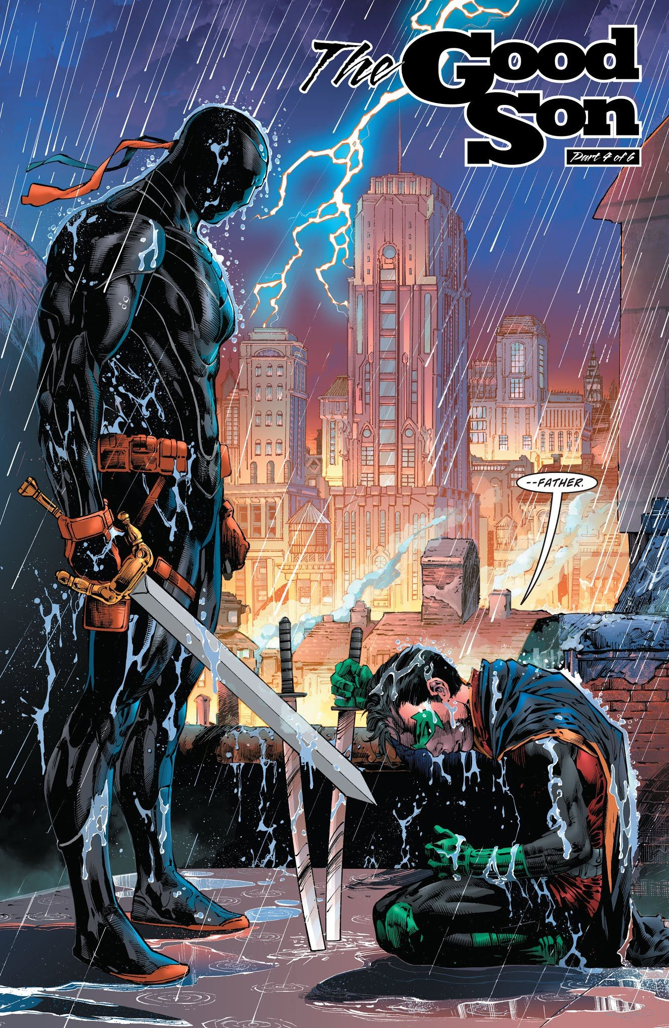 Deathstroke vol 4 #33 | Art by Ed Benes, Richard Friend & Dinei ...