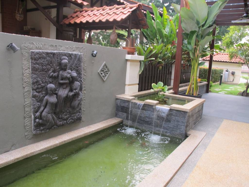 Koi pond design malaysia fountain design trading backyard ideas pinterest koi pond Design pond