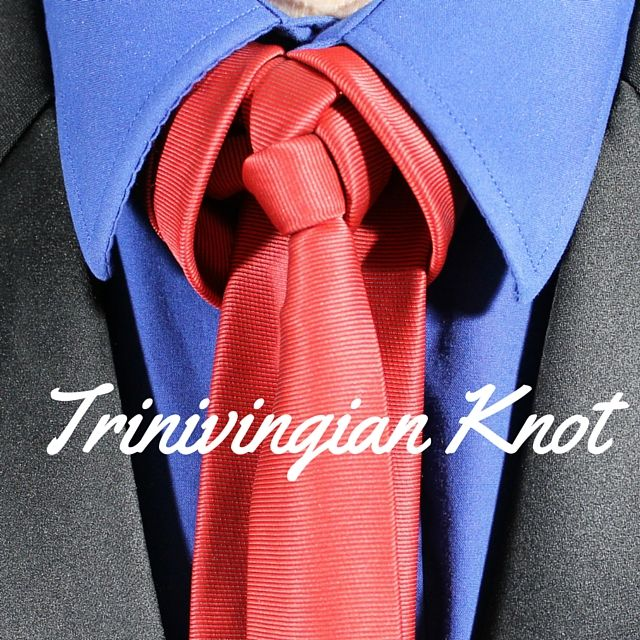 Trinivingian knot how to video 100 ways to tie a tie style trinivingian knot how to video 100 ways to tie a tie ccuart Choice Image