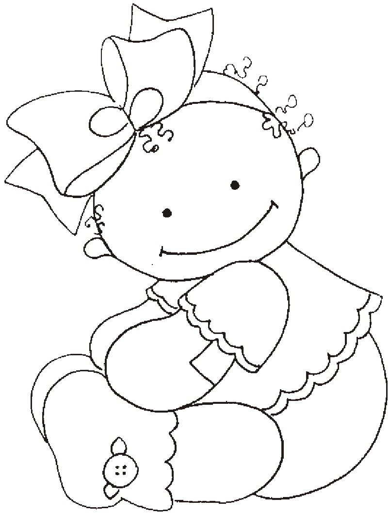 riscos desenhos pintura fraldas bebes (2) | Digi Stamps | Pinterest ...
