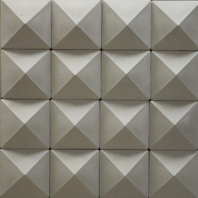 Pir mide revestimentos adesivos decorativos de for Mosaico adesivo 3d