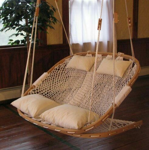 Bottom Flips For Foot Rest Hammock Chair Furniture Double Hammock