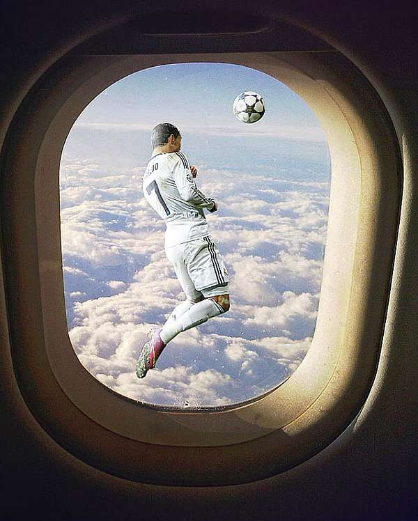 Pin By Somayah Ameen On فن دمج الصور بالفوتوشوب Airplane View Scenes Photoshop
