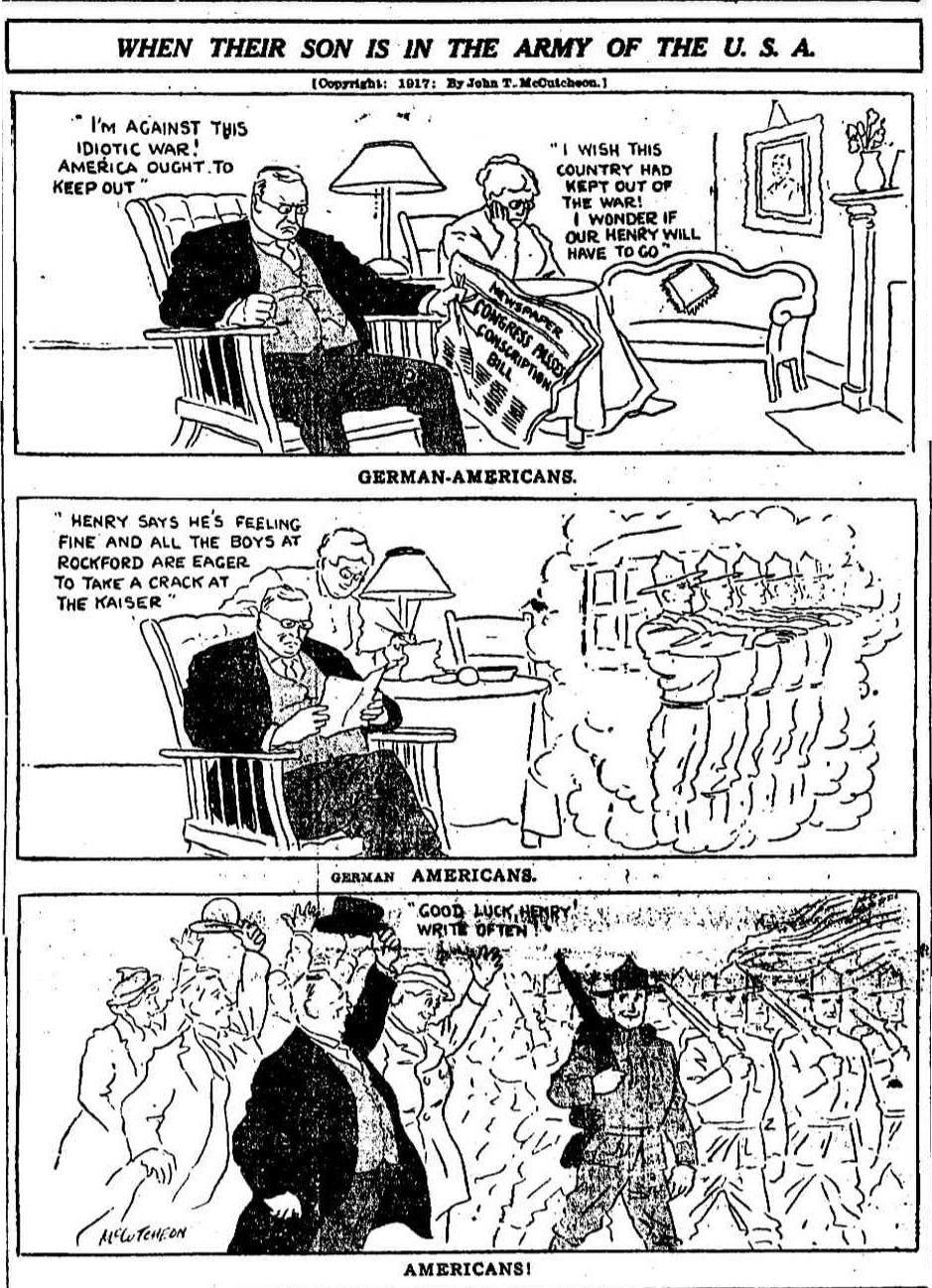 Sep 19 1917 When Their Son Is In The Army Of The U S A Chicago