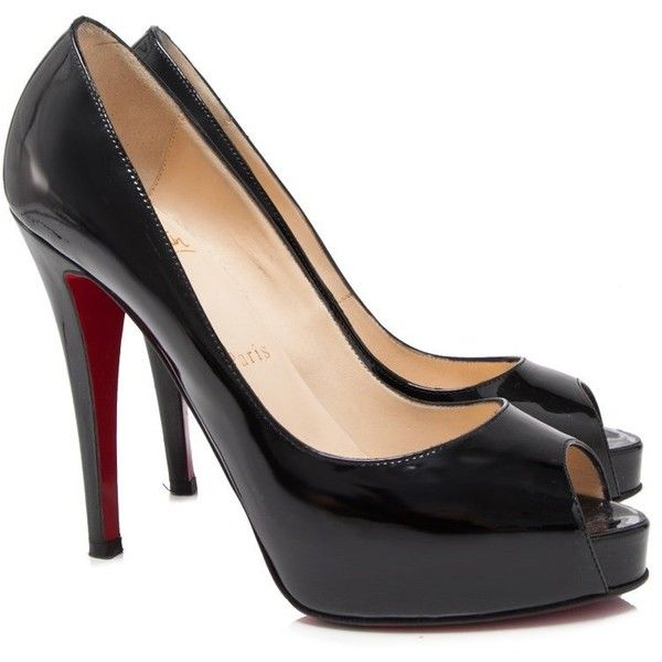 Pre-owned - Black High heel Christian Louboutin 7poqpVCh44