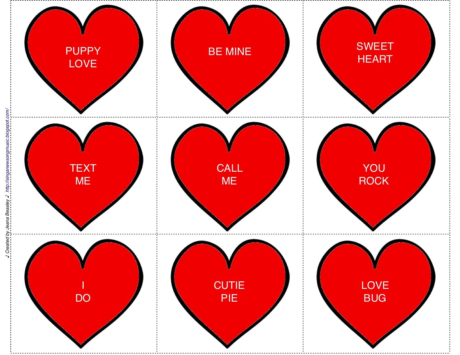 Candy Hearts Game Tempo And Expression With Images