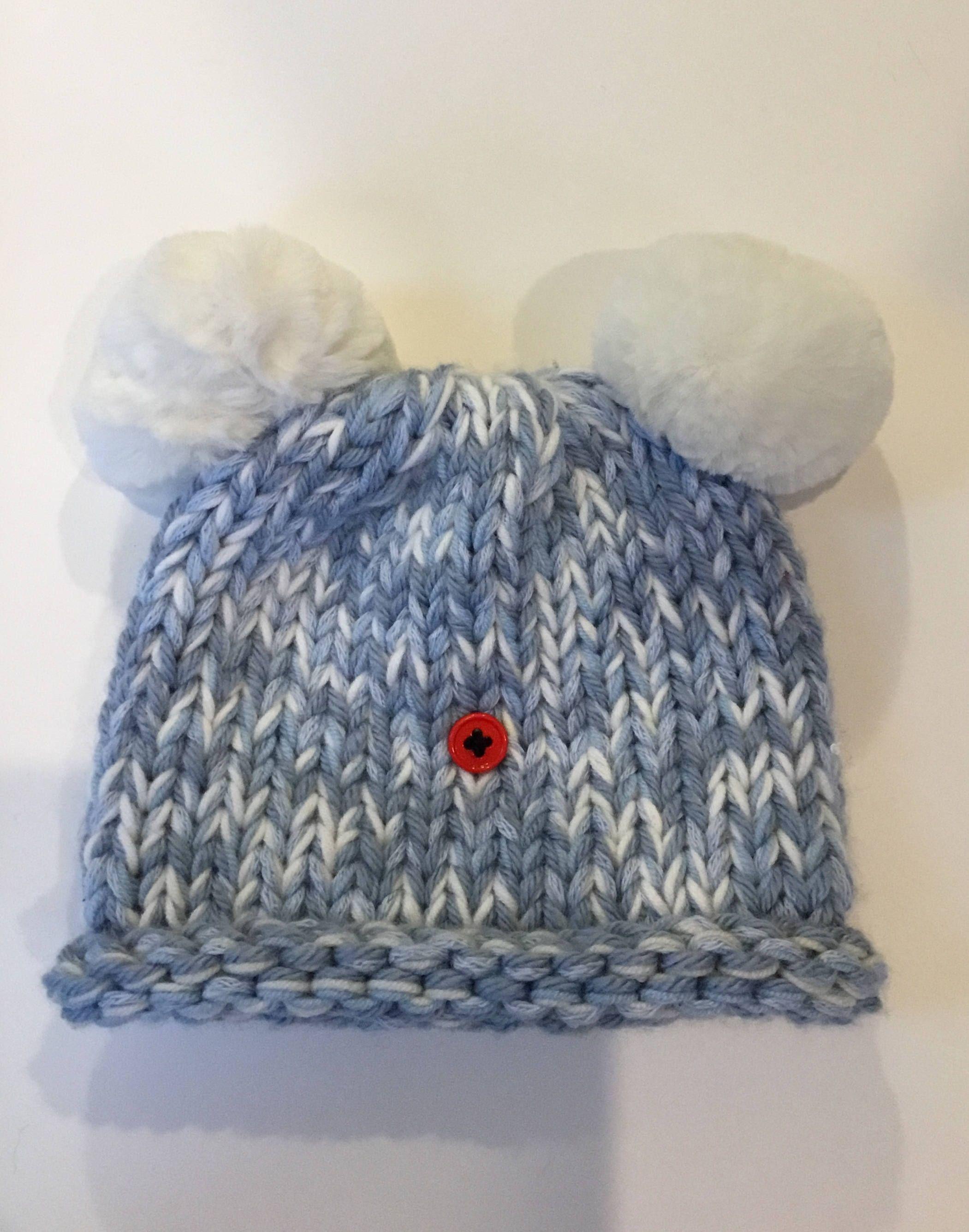 15896873146 ... discount code for handknit baby beanie blue baby boy hat baby boy cap  newborn hat 0ce07