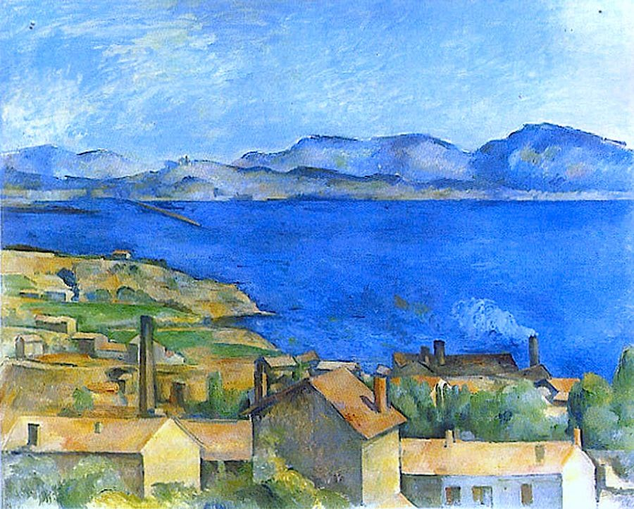 """Résultat de recherche d'images pour """"Cezanne, the bay of marseille"""""""