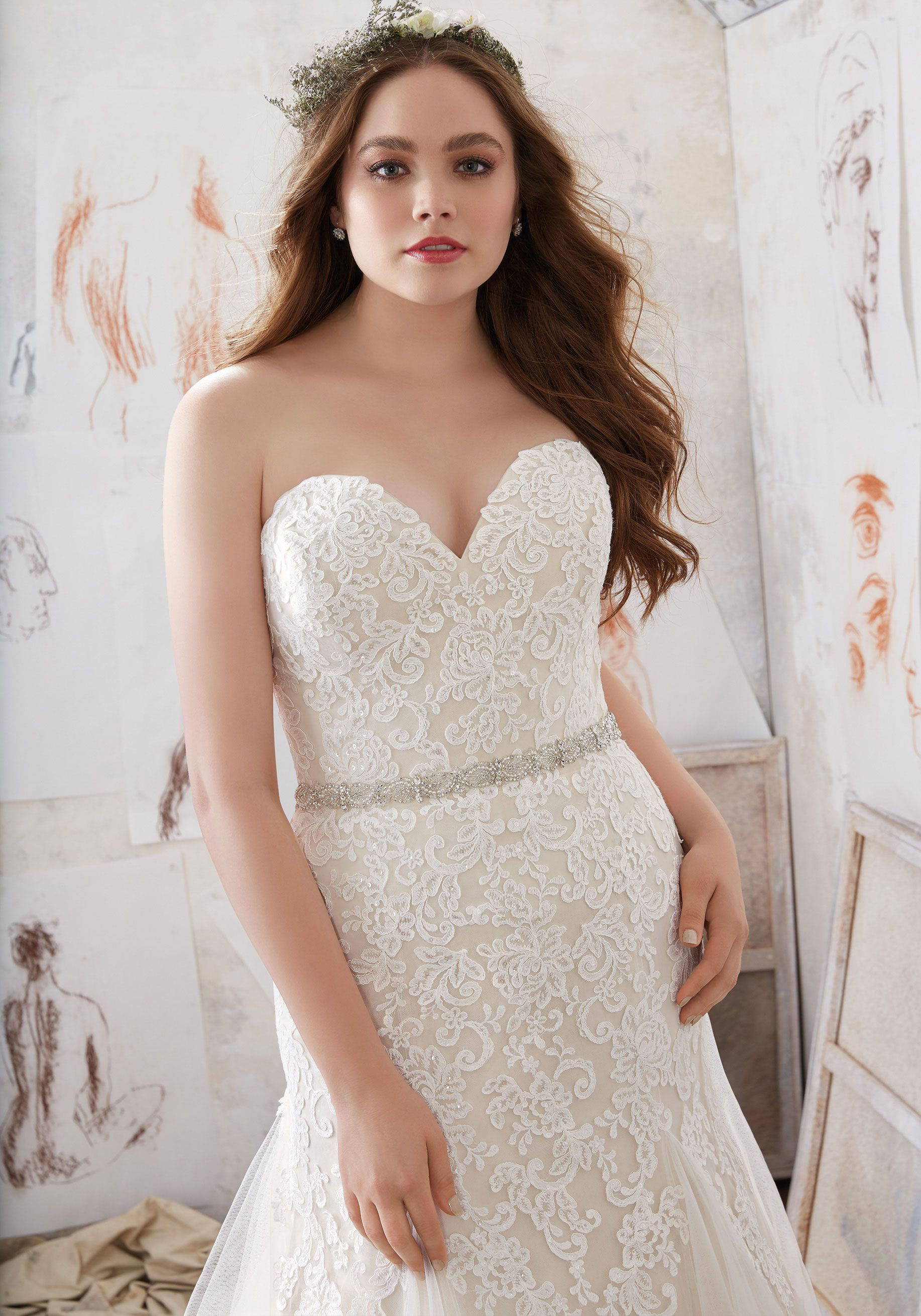 Lace dress gown  Designer Wedding Dresses and Bridal Gowns by Morilee Beautiful Plus