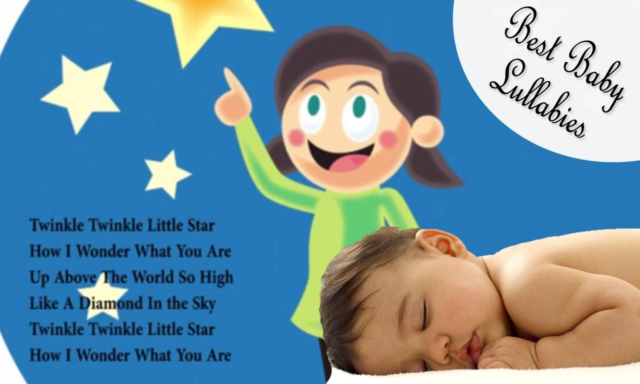 ♥ Twinkle Twinkle Little Star Baby  Music Lullaby Song - Children's  Nur...