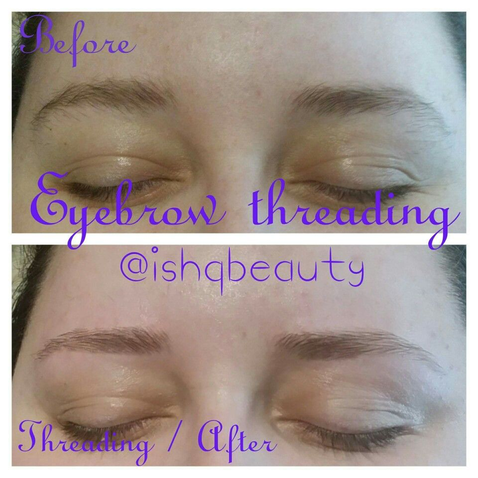 Eyebrow thread ishqbeauty ishqbeautyuk ishqbeauty threading