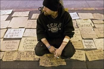 If You Were Homeless What Would Your Cardboard Sign Say Homeless Signs This Or That Questions