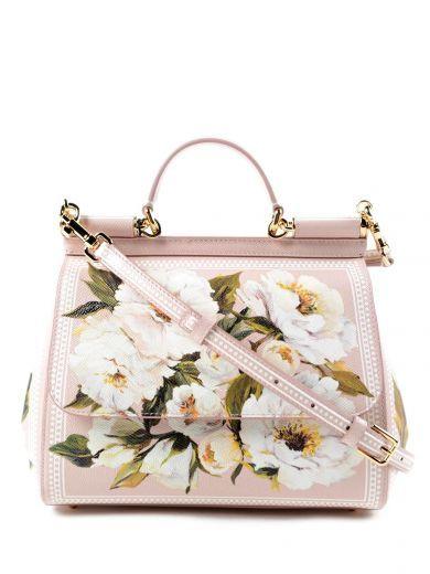 DOLCE & GABBANA Dolce Gabbana Borsa A Mano St.Dauphine. #dolcegabbana #bags #shoulder bags #hand bags #leather #
