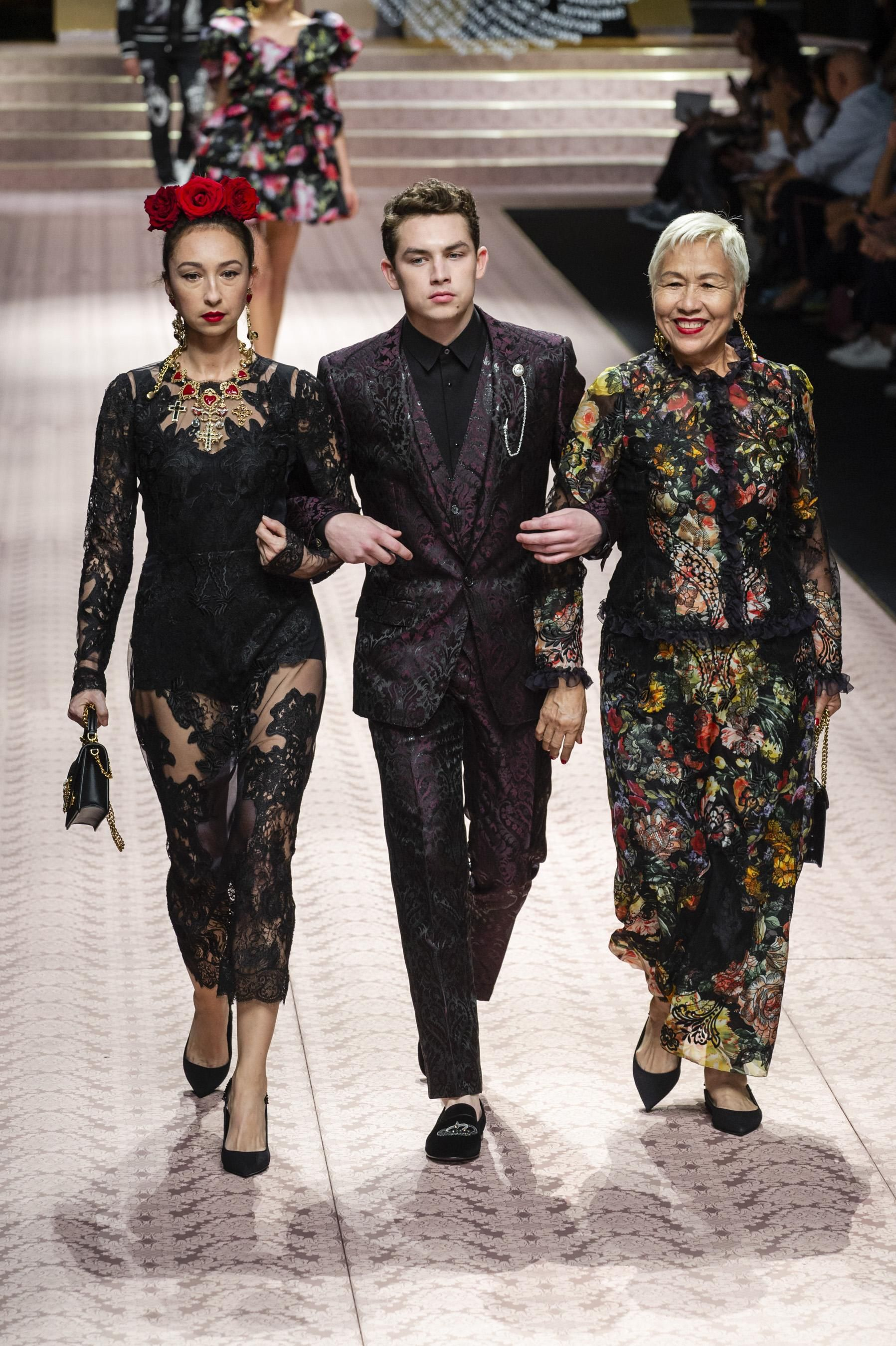 b3740795f3 Défilé Dolce & Gabbana printemps-été 2019 Prêt-à-porter - Madame Figaro