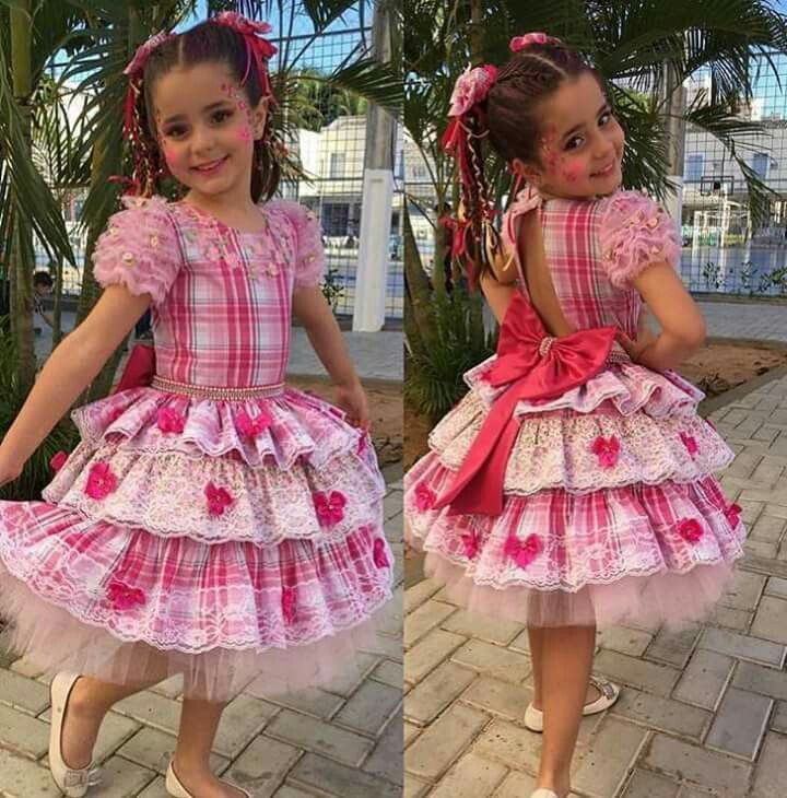 Vestido Festa Junina Caipira Infantil | MADAI FANTASIA