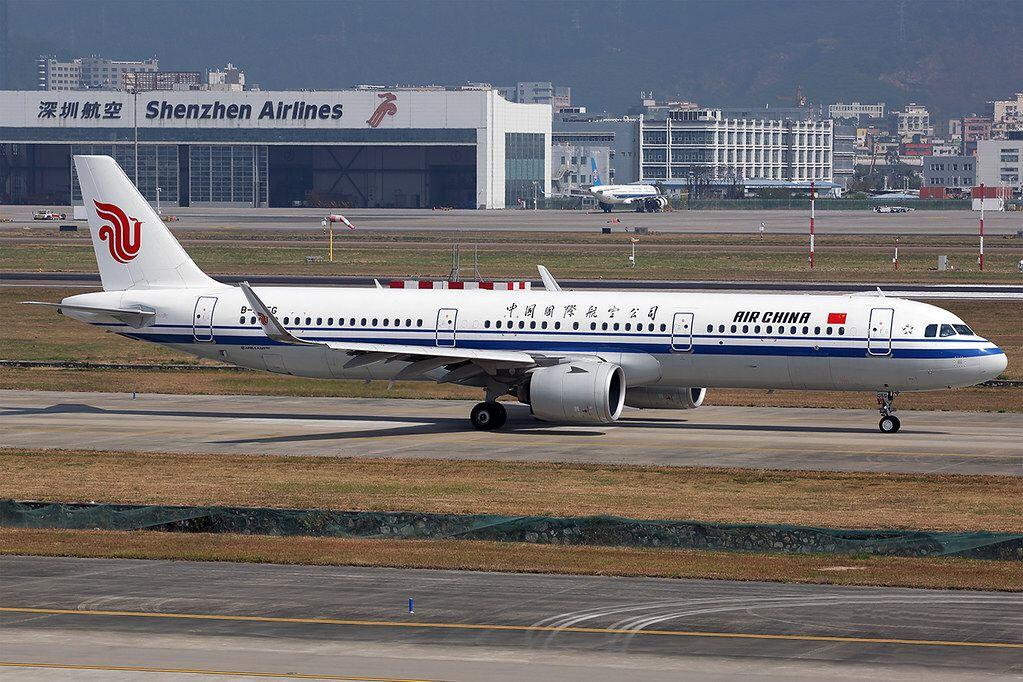 B305G A21N Air China SZX 20191201 in 2020 Air china